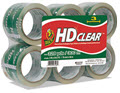 Heavy-Duty Carton Packaging Tape Clear 3