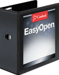Easy-Open Clearvue Extra-Wide Locking Slant-D Binder - 1 Binder