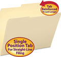 Guide Height Folder 2/5 Cut Right Two-Ply Tab - 100 File Folders