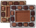Personalized Milk Chocolate Truffle Gift Box 25 (8 oz. Gift Boxes)