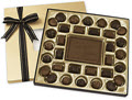Personalized Milk Chocolate Truffle Gift Box  -  25 (16 oz. Gift Boxes)