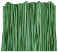 Green Metallic Twist Ties, 4 inch - 2,000 ties