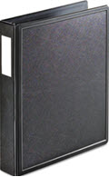 Superlife Easy Open Locking Slant-D Ring Binder 1 1/2