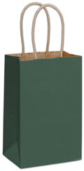 Color-on-Kraft Shoppers 5 1/4 x 3 1/2 x 8 1/4 - 250 Bags