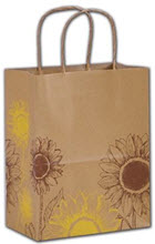 Sunflower Shoppers 8 1/4 x 4 3/4 x 10 1/2  -  100 Bags