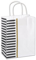 Sleek Style Shoppers Mini Pack 8 1/4 x 4 3/4 x 10 1/2