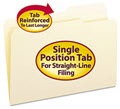 Guide Height Folder 2/5 Cut Right Reinforced Top Tab - 100 Folders