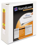 Touchguard Antimicrobial View Binder Slant Rings - 1 Binder