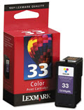 OEM 18c0033 (33) Ink 130 Page-Yield Tri-Color - 1 Cartridge