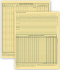 Vet Animal Exam Records, With Account Record - 100 forms