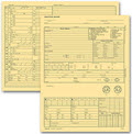 Optometry Exam Record Form - 100 forms