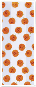 Patterned Cello Bags, Jack-o-Lantern, 5