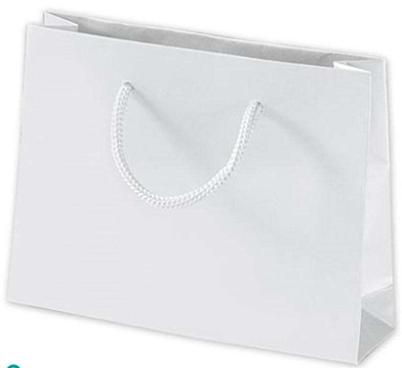 Matte Laminated Mini Euro Totes 200 Bags