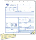 Towing Service Orders with Key Tag - 250 Forms
