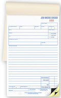 Booked Job Work Orders - 250 form sets