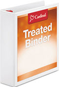 Cardinal Treated Binder Clearvue Locking Slant-D Ring Binder 2