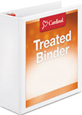 Cardinal Treated Binder Clearvue Locking Slant-D Ring Binder 3