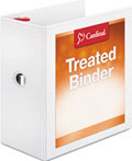 Treated Binder Clearvue Locking Slant-D Ring Binder - 2 Binders