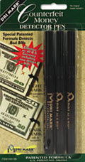 Smart Money Counterfeit Bill Detector Pen For Use Wu.s. Currency 3pack