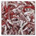 Crinkle Cut Fill Candy Cane Blend - One 10 lb. Box