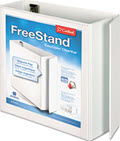 Freestand Locking Slant-D Ring Binder 4