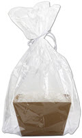 Clear Basket Bags 18 1/2 x 22 - 25 Bags