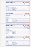 Money And Rent Receipt Books - 200 Receipts