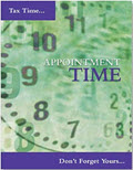 Appointment Tax Time Postcard - 100 Cards