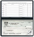 Compact Size Duplicate Checks, Green Marble Design, Quantity 100