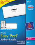 Easy Peel Laser Address Labels, 1 1/3 X 4 -  1,400 Labels