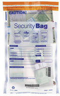 EGP All Clear Single Pocket Money Handling Bag 10 x 15 -  100 Bags