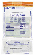Twin Money Handling Bag Vertical 9 1/2 x 15 -  100 bags