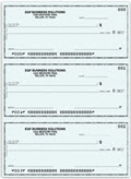 The Secretary Deskbook, 3-On-A-Page Compact Size Checks - 250 checks