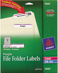 Permanent File Folder Labels Trueblock  -  Pack of 750