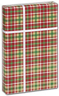 Christmas Plaid Gift Wrap 30