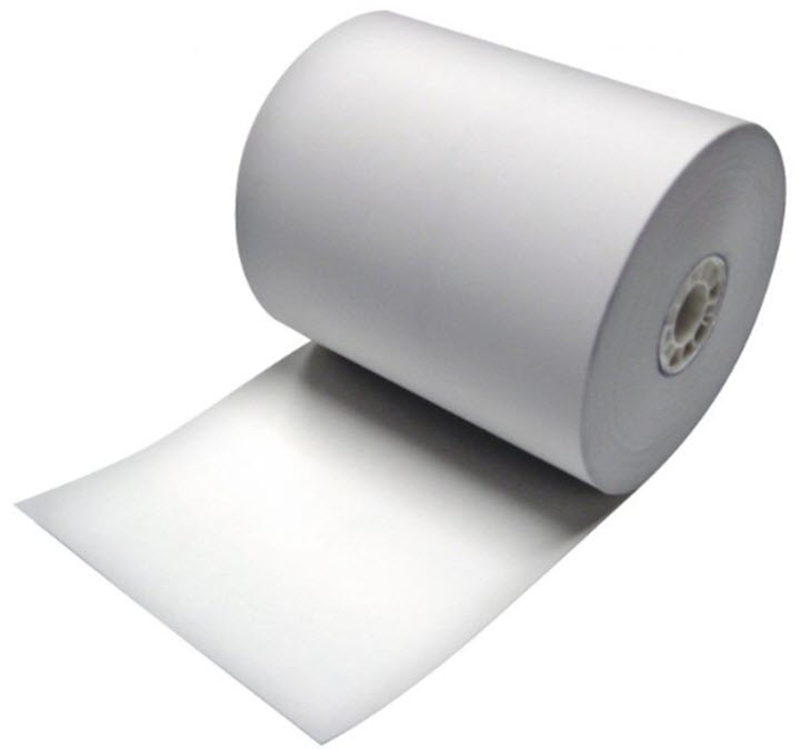 "3.15"" x 3"" (273') 1-ply black image thermal roll - price is for 1 carton of 50"