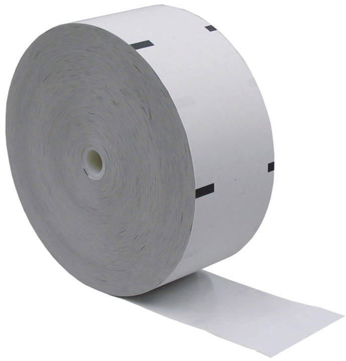 NCR Thermal Receipt Roll for ATM 3.125 inches x 1960 feet  -  1 pack of 4
