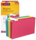 Hanging File Folders 1/5 Tab 11 Point Stock - 25 Folders