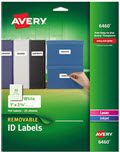 Removable Multi-Use Labels, 1 X 2 5/8 - Pack of 750 Labels