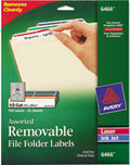 Removable File Folder Labels - 750 Labels