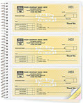 Cash Receipt Books - 500 Receipts