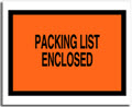 Packing List Envelope with Pressure Sensitive Backing, 5 1/2
