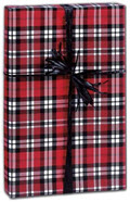 Authentic Plaid Gift Wrap 30