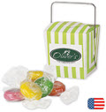 Mini Takeout Container with Citrus Slice Candy - 50 Containers