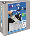 Heavy-Duty View Binder locking 1-Touch Rings, 4