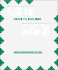 Double Window First Class Envelope - 9 1/2 x 11 1/2, 50 Envelopes
