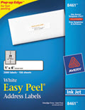 Easy Peel Inkjet Address Labels, 1 X 4 -  2,000 Labels
