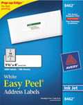 Easy Peel Inkjet Address Labels, 1 1/3 X 4 - 1,400 Labels