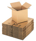 Corrugated Cubed Fixed Depth Shipping Boxes 8l X 8w X 8h  -  25 Boxes
