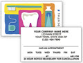 Dental 2 Sided Appointment Cards - 500 Cards